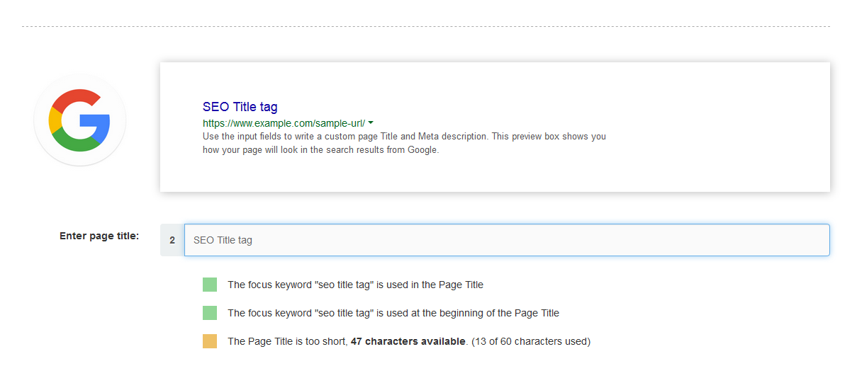 How To Write A Title Tag For SEO