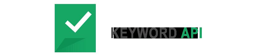 keyword API