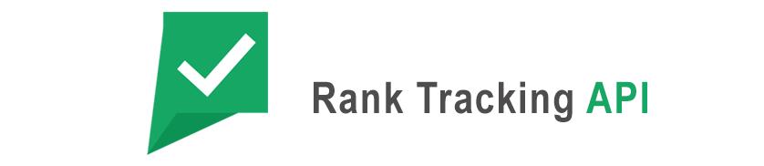 Rank tracking API