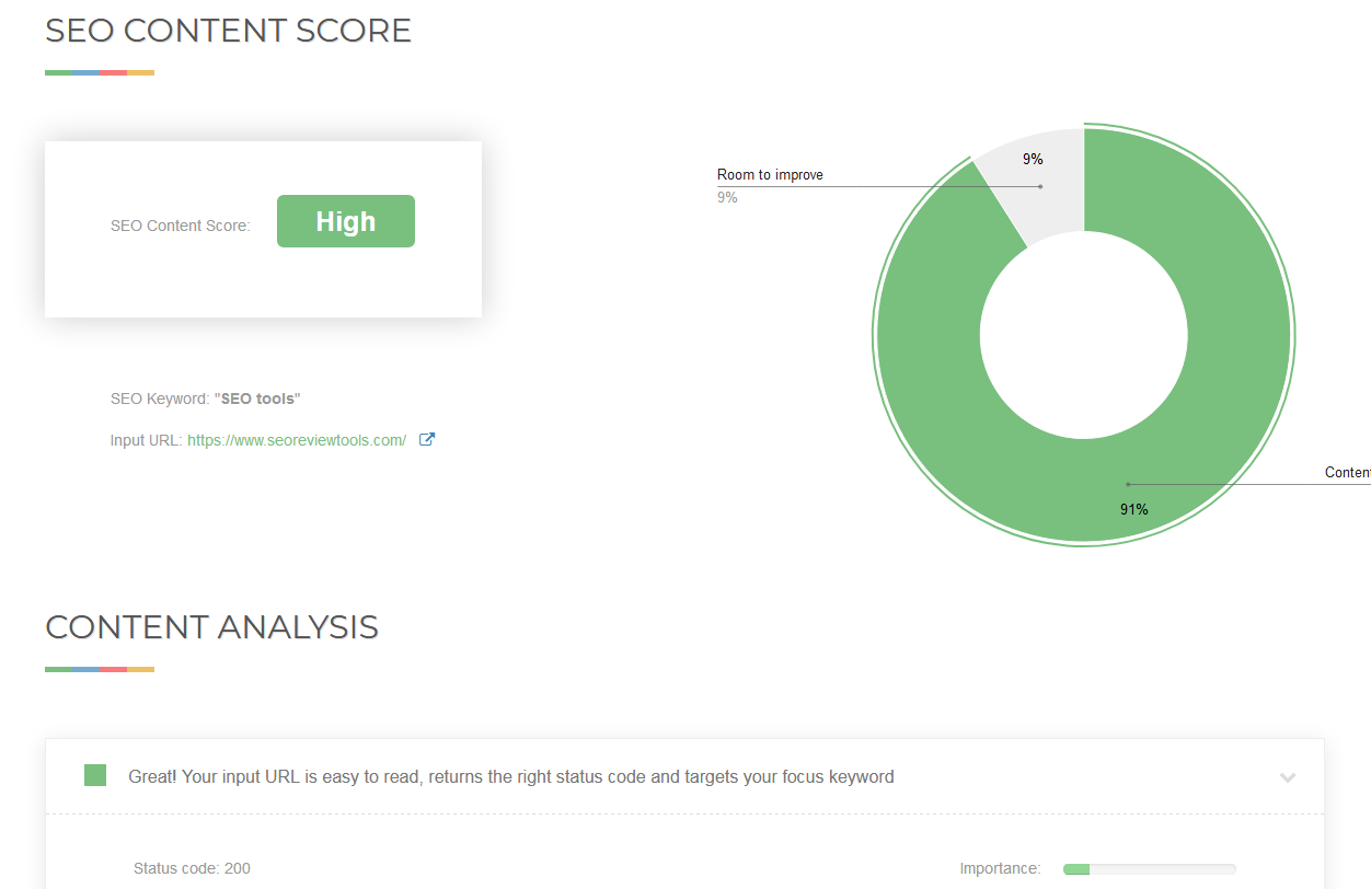 SEO Content Score Checker