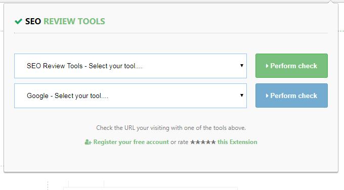 seo review tools for chrome